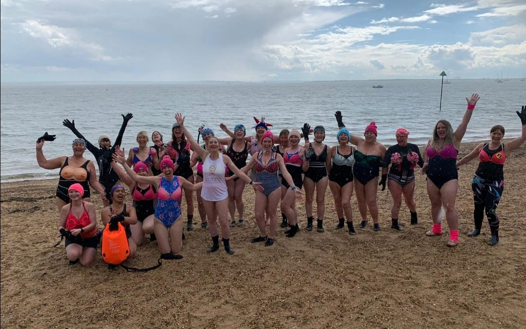 Blue Tits Open Water Swimmers, week completed