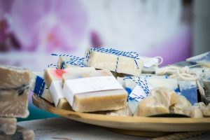 homemade craft soap for charity